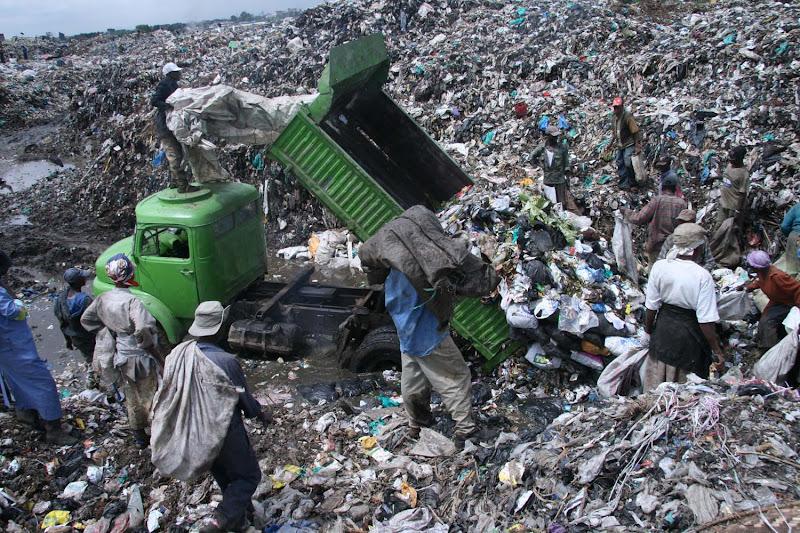 Photo: waste dumpfills