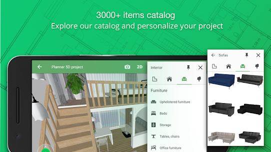 Planner 5D – Home & Interior Design Mod Apk (Unlocked All Items) 1.24.6 3