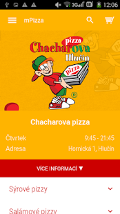 Chacharova pizza- screenshot thumbnail