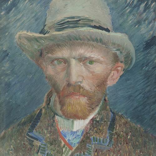 Zelfportret, Vincent van Gogh, 1887 - Rijksmuseum