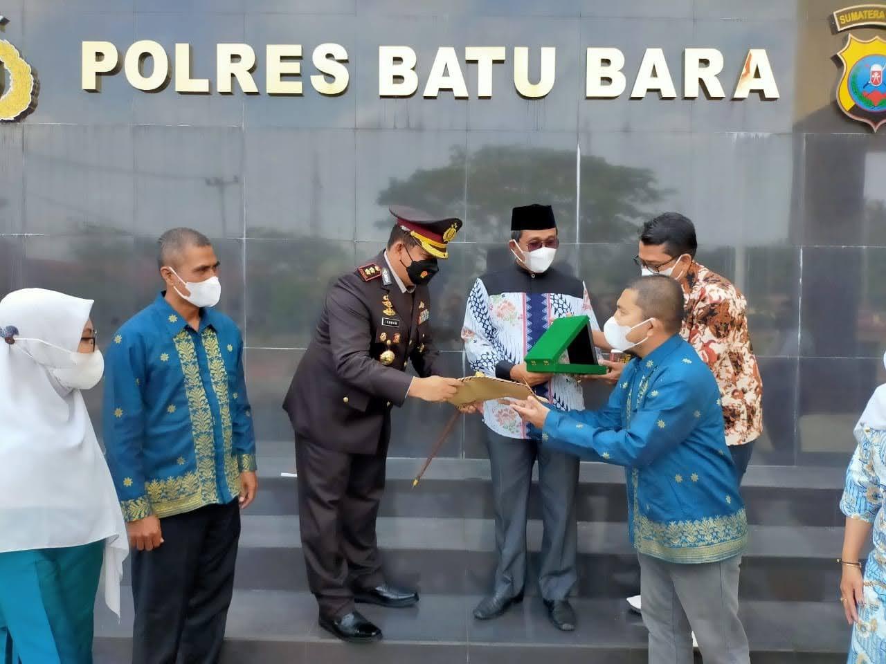 HIKABARA Memberikan Penghargaan dan Dukungan Atas Kerja Baik Kapolres Batu Bara