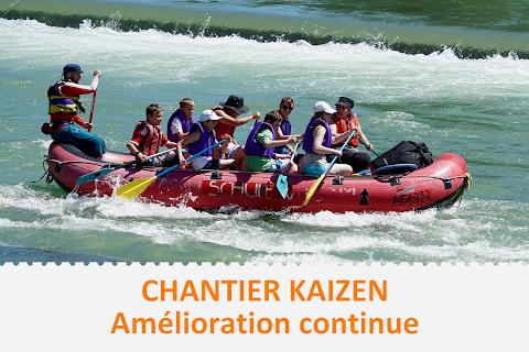 Chantier d'Amélioration continue Kaizen - Accompagnement individualisé SUR-MESURE Lean
