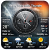 live weather and clock widget