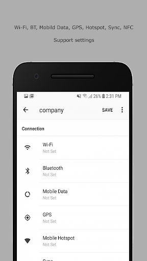 OTOSet - Android Automation Device Settings  screenshots 1