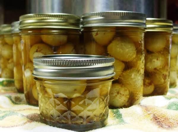 Spicy Cajun Pickled Quail Eggs