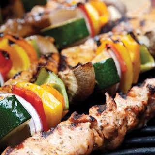 Chicken or Beef Skewers (Shish Kabobs).
