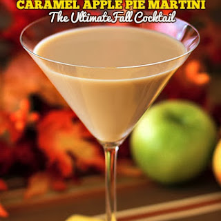 Caramel Apple Pie Martini.