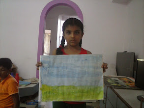 Photo: Indoor Painting Session