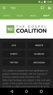 The Gospel Coalition- screenshot thumbnail