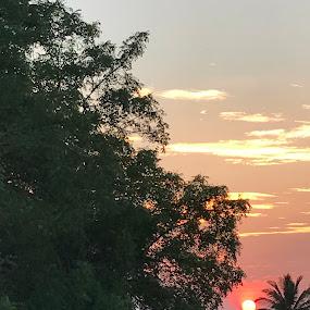 Sunset...🌅 by Indhumathi Karthikeyan - Instagram & Mobile iPhone