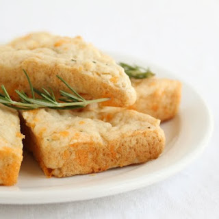 Cheddar and Rosemary Scones