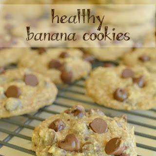 Banana Cookies (Healthy)