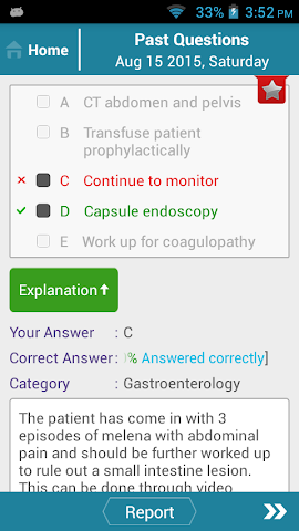android Family Med Question of the Day Screenshot 2