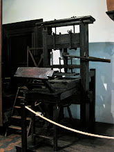 Photo: The Plantin-Moretus Museum, i.e. the history of printing (named after the two most prominent families in the early days).http://www.museumplantinmoretus.be/ That is one of the two oldest printing presses in the world.