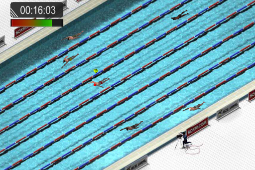 Swimming Race 2016 screenshot 4