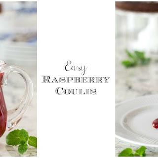 Easy Raspberry Coulis.