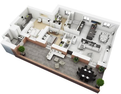3d Floor Plan Screenshot Thumbnail