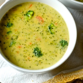 The Easiest One-Pot Broccoli Cheese Soup