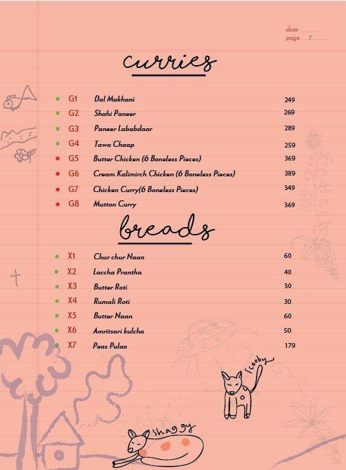 Echoes menu 8