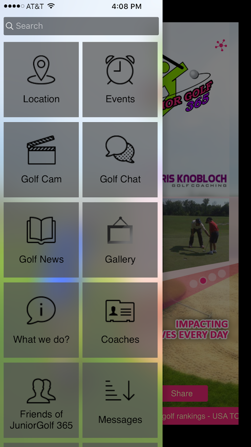 Junior Golf 365- screenshot