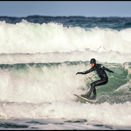 Surfers paradise by Janne Monsen - Sports & Fitness Surfing ( water, surfing, waves, sea, paradise, norway )