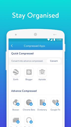 Never Uninstall Apps - SpaceUp 1.45 Screenshots 5