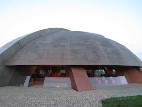Photo: Tenuta Castelbuono Winery in Umbria- Designed by Pomodoro who designed the ball in Pesaro