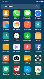 X Launcher: With OS12 Style Theme & Control Center Screenshot