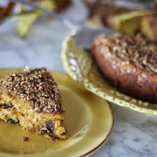 Pumpkin Buttermilk Chocolate Chip Coffeecake