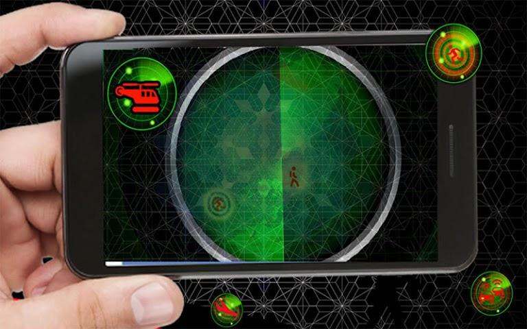 android Radar Scanner 3d Sim Prank Screenshot 6