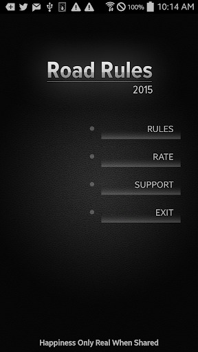 Road Rules Australia 2015