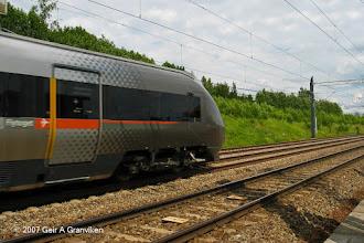 Photo: BM71 Airport Express train (Flytoget)