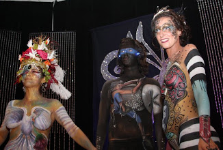 Photo: Winners at Face and Body Art International Convention Orlando Florida Male model by Paola Gallardo from http://www.BestPartyPlanner.net
