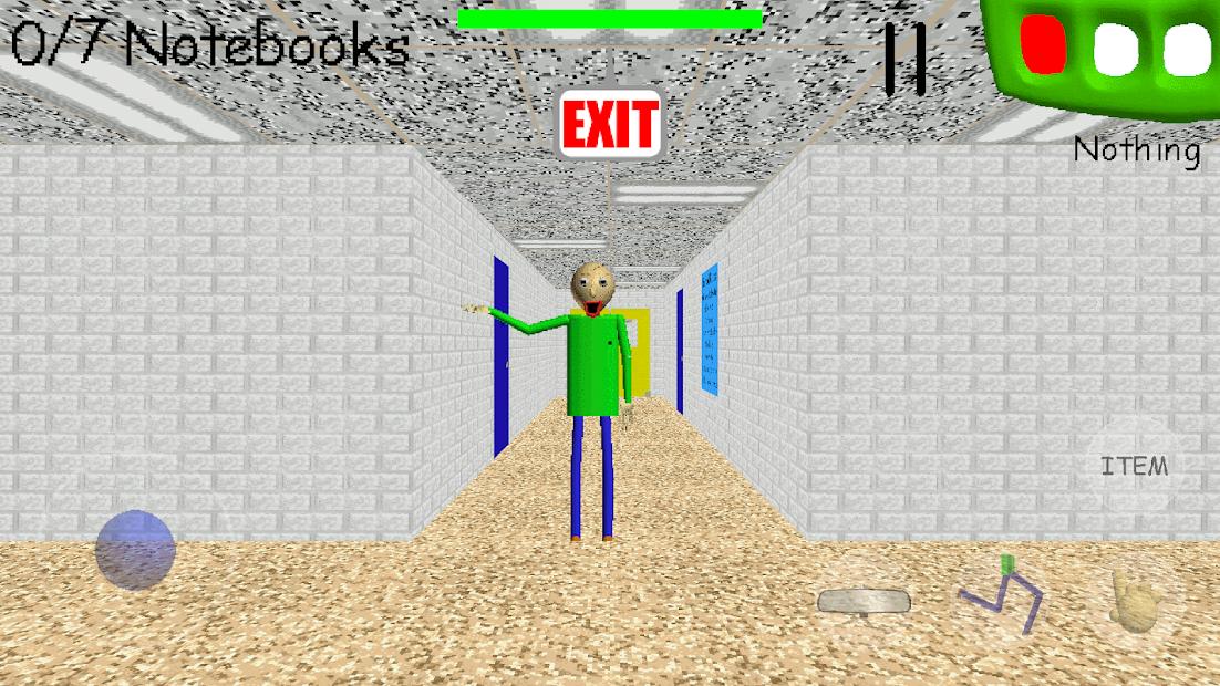 Baldi's Basics Classic Android App Screenshot