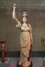 Photo: Columbia Precursor to the Statue of Liberty