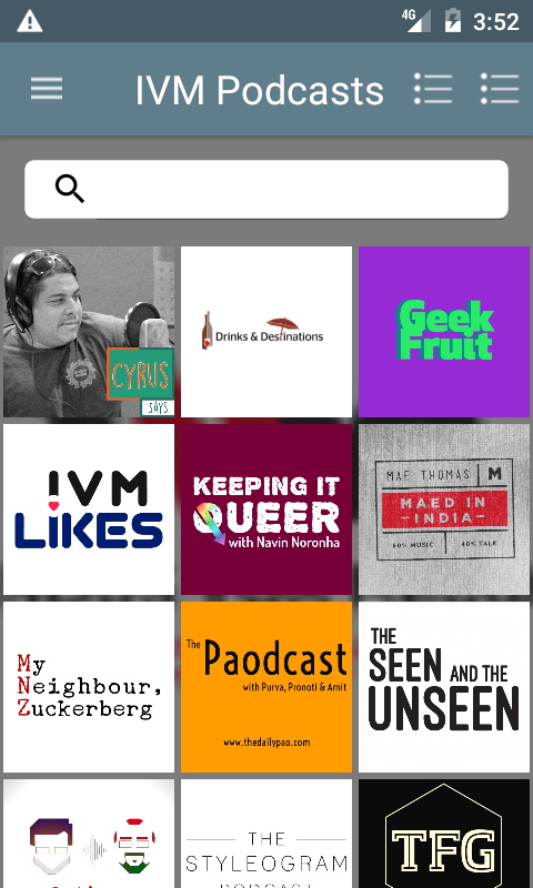 IVM Podcasts- screenshot
