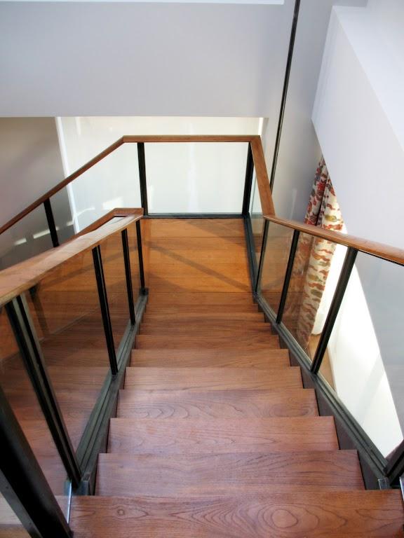 Drewniane schody - inspiracje