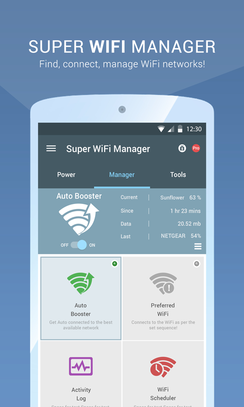 Super WiFi Manager- screenshot