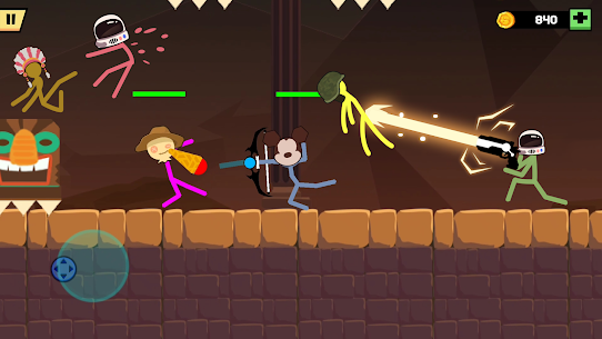 Stickman Fight Battle MOD APK (Unlimited Money/No Ads) for Android 4