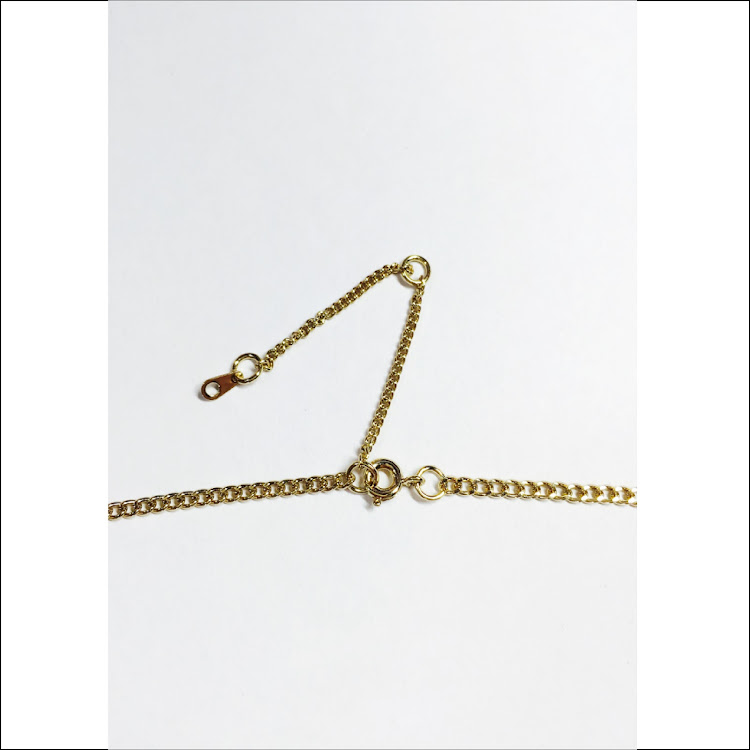 N026 - G. Twin I-Bar Necklace