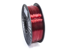 Translucent Red PRO Series PETG Filament - 1.75mm (1lb)