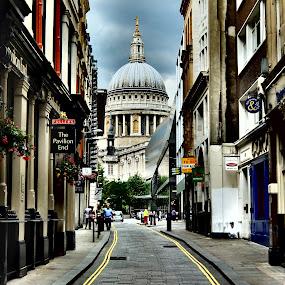 St Paul's, London by Steve Cooke - City,  Street & Park  Historic Districts