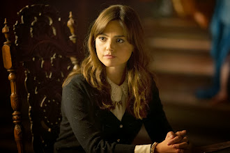 Photo: Clara Oswald in the Doctor Who Christmas Special 2013, The Time of the Doctor.