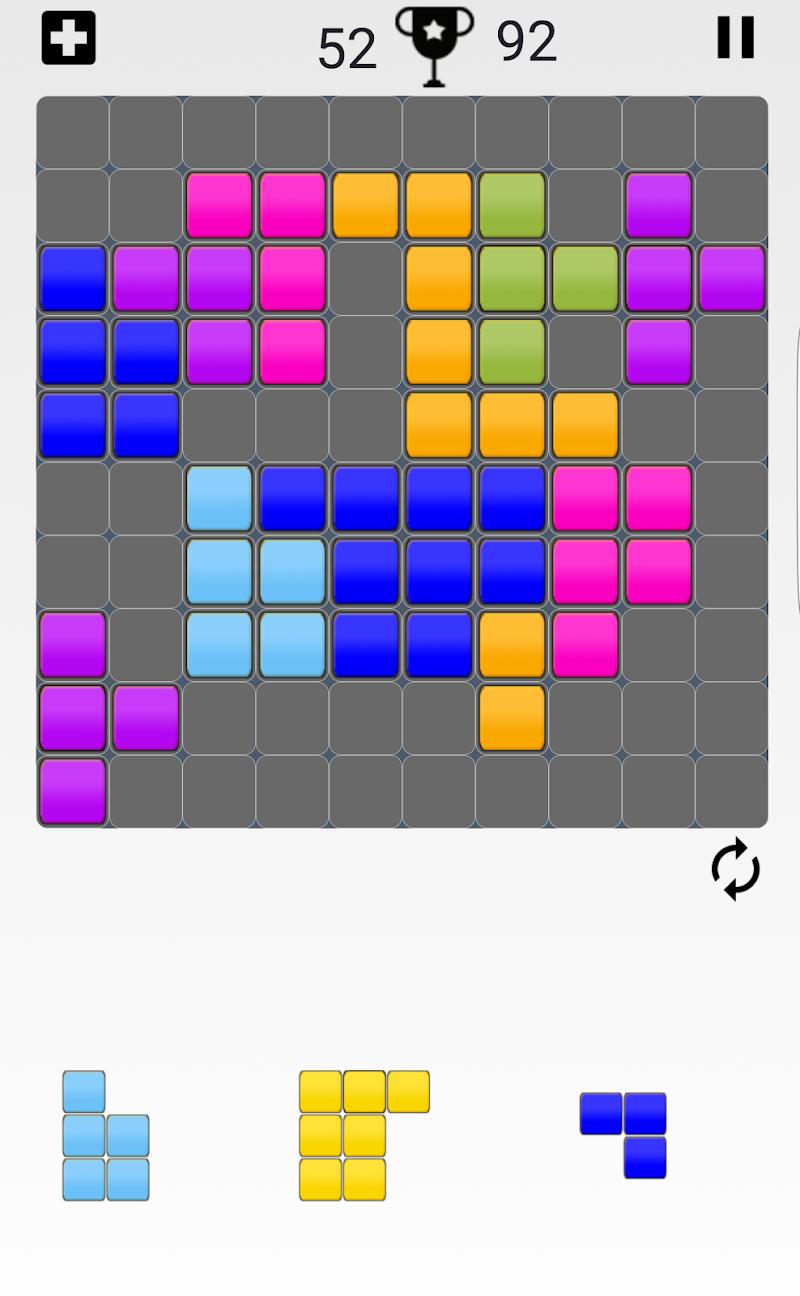 Скриншот Hard Block Puzzle