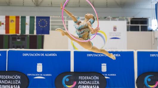 Los Campeonatos de Andalucía de Gimnasia Rítmica, un éxito