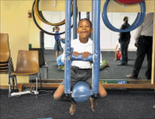 ACTIVE KID: Andile Mkwanazi, a pupil at the School of Achievement  in Elspark. 16/03/2009. Pic. Vathiswa Ruselo. © Sowetan.