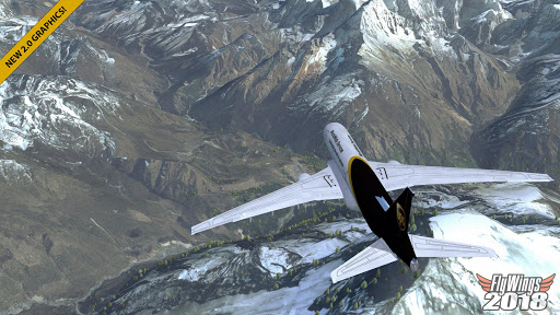 Flight Simulator 2018 FlyWings Free 2.2.7 screenshots 1