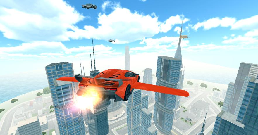 Flying Car 3D- screenshot