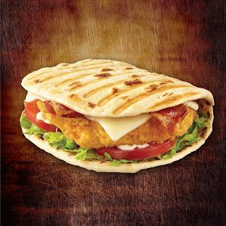 Southern Style Breaded Chicken Foldit® Flatbread Sandwich