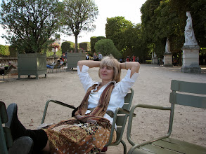Photo: The Luxembourg gardens are the best place to relax after exhaustive walks through Paris.